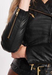 BTFCPH - EMMA - Leather jacket - black - 5