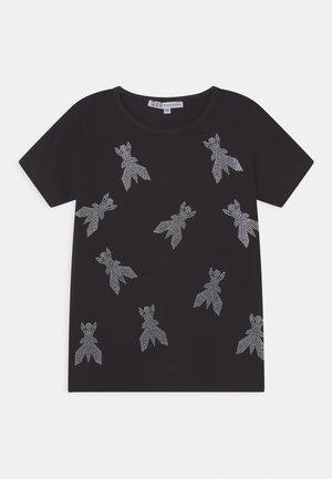 FLY - Print T-shirt - black