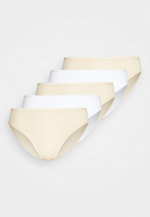 5 PACK - Briefs - nude mix