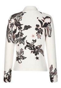 Alba Moda - Cardigan - off-white,anthrazit,rosenholz - 6