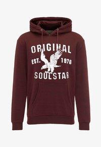 SOULSTAR - Hoodie - burgundy - 4