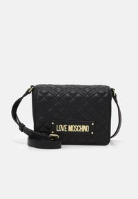 QUILTED SOFT - Across body bag - nero