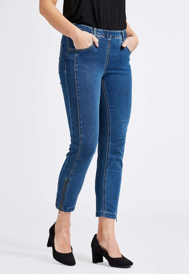 Jeggings - medium blue