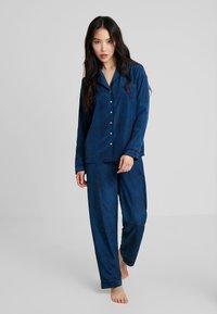 Anna Field - SET - Pyjama set - dark blue - 1