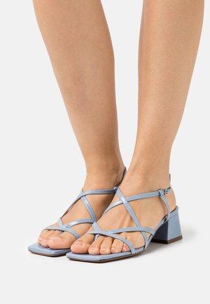 BAHAMA - Sandals - vieilli bleu azur