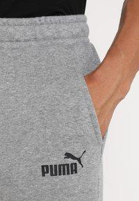 Puma - BERMUDAS - Träningsshorts - medium gray heather - 3