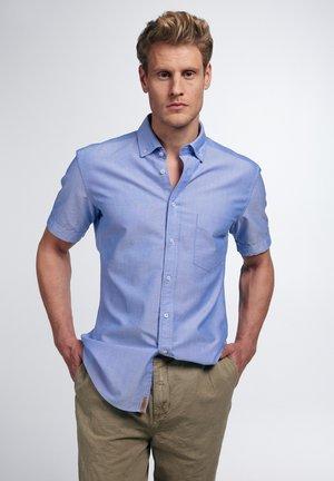 SLIM FIT - Shirt - blau