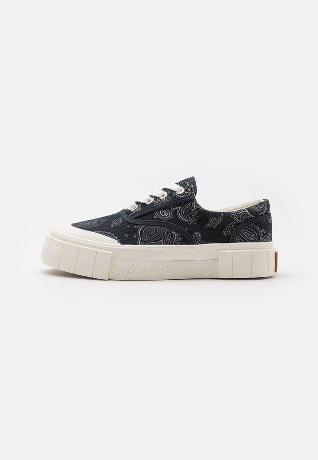 OPAL PAISLEY UNISEX - Sneakers laag - black