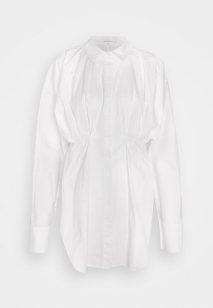 DART POPLIN - Blouse - white