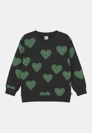 HEARTS UNISEX - Sweater - off black