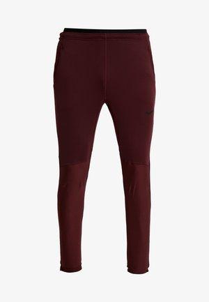 PANT - Pantaloni sportivi - night maroon