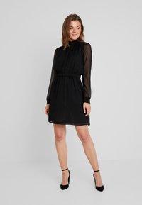 Pieces - PCAMALIE DRESS - Sukienka letnia - black - 1