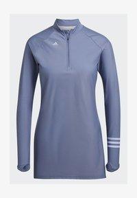 adidas Performance - ADI PBSW TOP SWIM SPORTS WATERSPORTS PRIMEBLUE NYLON RASH GUARD - Long sleeved top - purple - 7