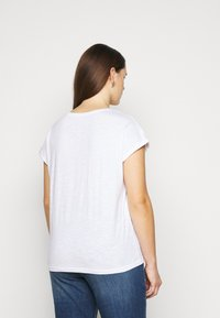 MY TRUE ME TOM TAILOR - 2 PACK - Basic T-shirt - real navy blue - 3