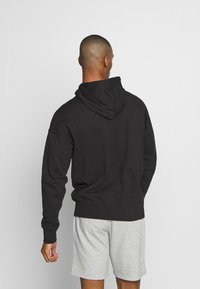 Champion - ROCHESTER HALF ZIP HOODED - Bluza z kapturem - black - 2