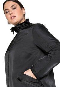 Sheego - Outdoor jacket - schwarz - 3