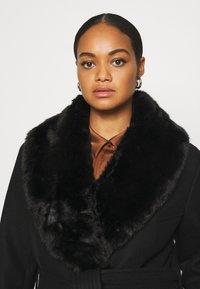 Forever New Curve - EMORY WRAP COAT - Classic coat - black - 4
