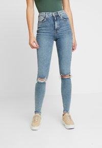 Topshop Tall - JAMIE AUSTIN - Jeans Skinny Fit - grrencast - 0