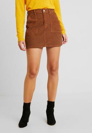 ENSEVILLA SKIRT - Áčková sukně - light brown