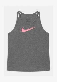 Nike Performance - TROPHY TANK - Funkční triko - carbon heather/pink - 0