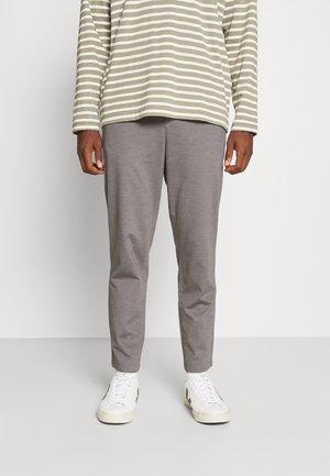 SLHSLIMTAPE JIM STRING FLEX - Kalhoty - light grey melange