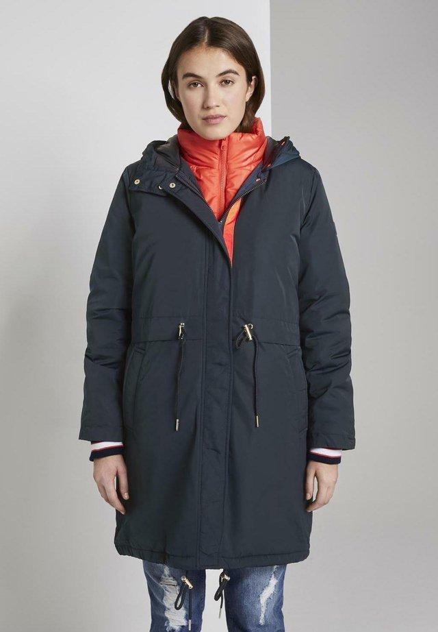 2IN1 PARKA - Abrigo de invierno - dark blue