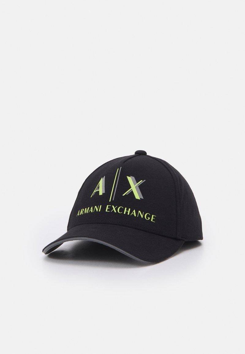 Armani Exchange - BASEBALL UNISEX - Gorra - nero