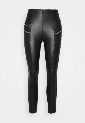 BIKER - Trousers - black