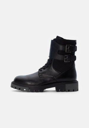 WANNA - Cowboy/biker ankle boot - black