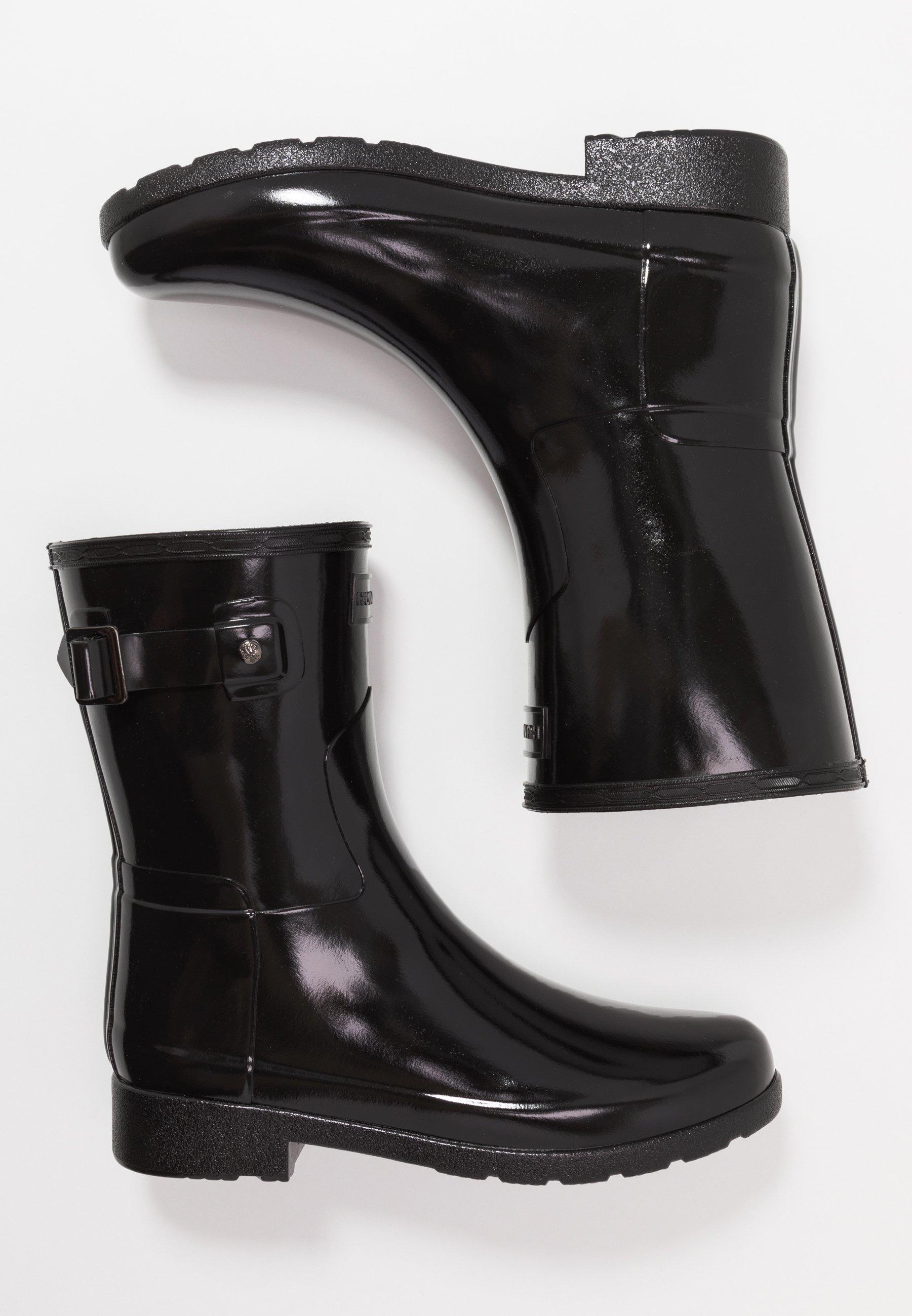 ORIGINAL REFINED SHORT GLOSS Regenlaarzen black