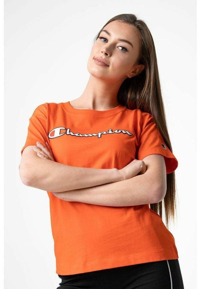 T-shirt z nadrukiem - orange
