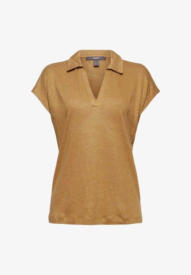 Poloshirt - light brown