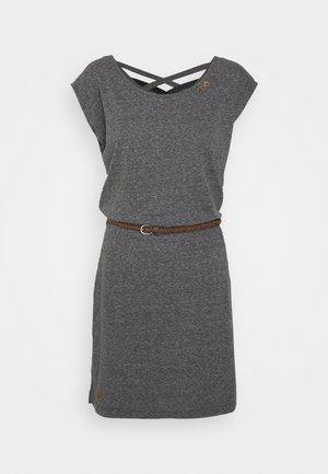 SOFIA DRESS - Sukienka z dżerseju - dark grey