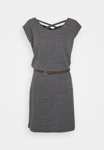 SOFIA DRESS - Robe en jersey - dark grey