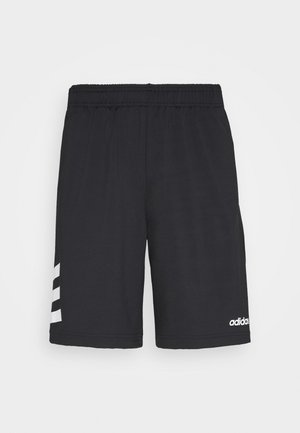 3 STRIPES AEROREADY TRAINING SHORTS - Sports shorts - black/white