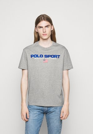 T-shirt con stampa - andover heather