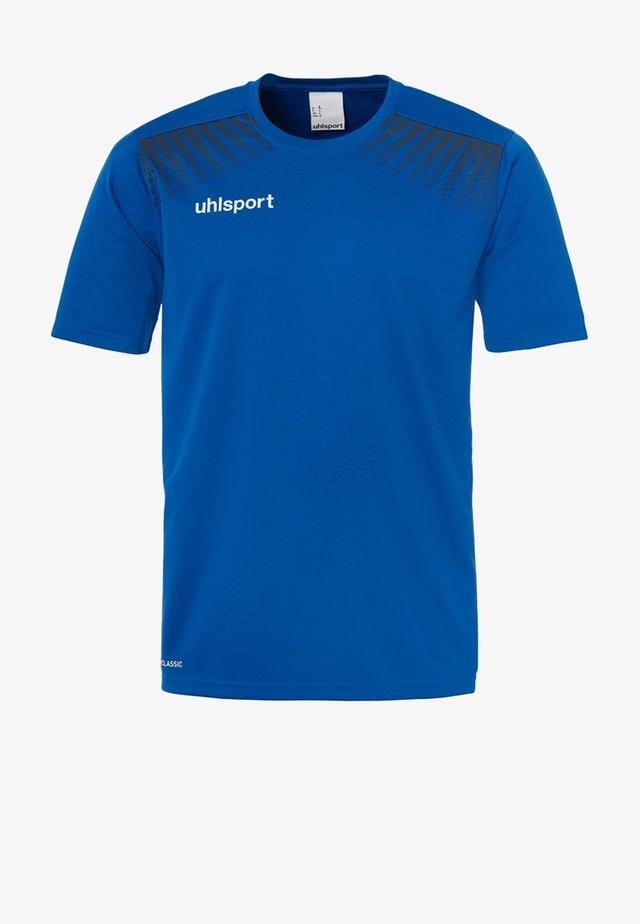 GOAL TRAINING  - Print T-shirt - blue/dark blue