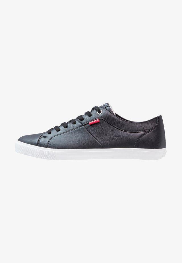 WOODS - Sneaker low - regular black
