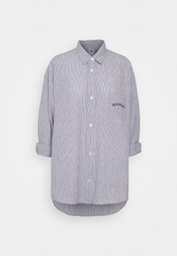 TULLY OVERSIZED STRIPED  - Button-down blouse - grey