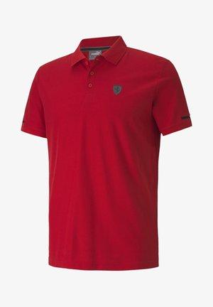 SCUDERIA FERRARI - Polo shirt - rosso corsa