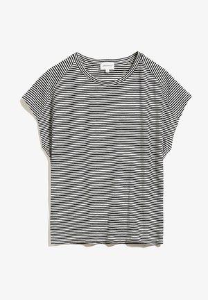 OFELIAA PRETTY - Print T-shirt - black-oatmilk