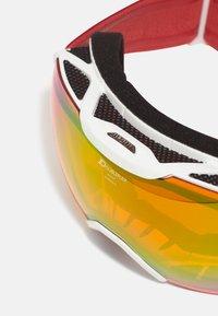 Alpina - PHEOS  - Occhiali da sci - white/coral - 5