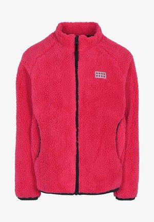 SINCLAIR UNISEX - Fleece jacket - dark pink