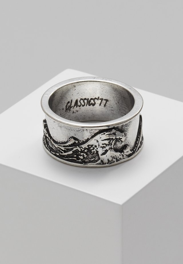 GREAT WAVE BAND - Ring - silver-coloured