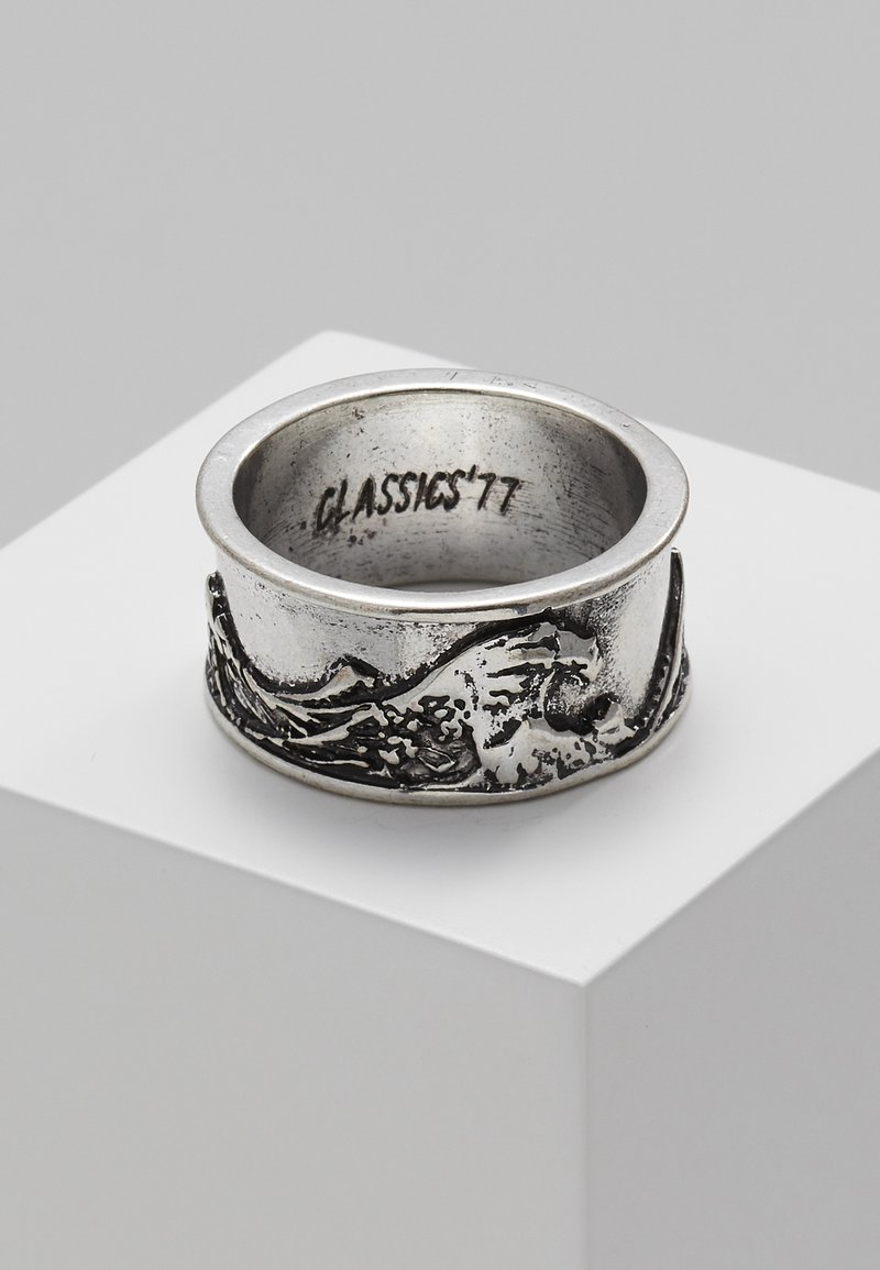 Classics77 - GREAT WAVE BAND - Prsten - silver-coloured