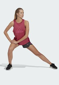 adidas Performance - T-shirt sportiva - pink - 1