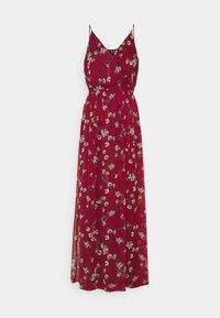 Vero Moda - VMWONDA WRAP DRESS - Maxi dress - tibetan red - 0