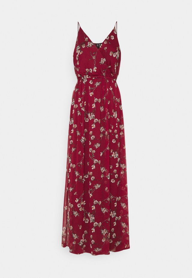 VMWONDA WRAP DRESS - Vestido largo - tibetan red