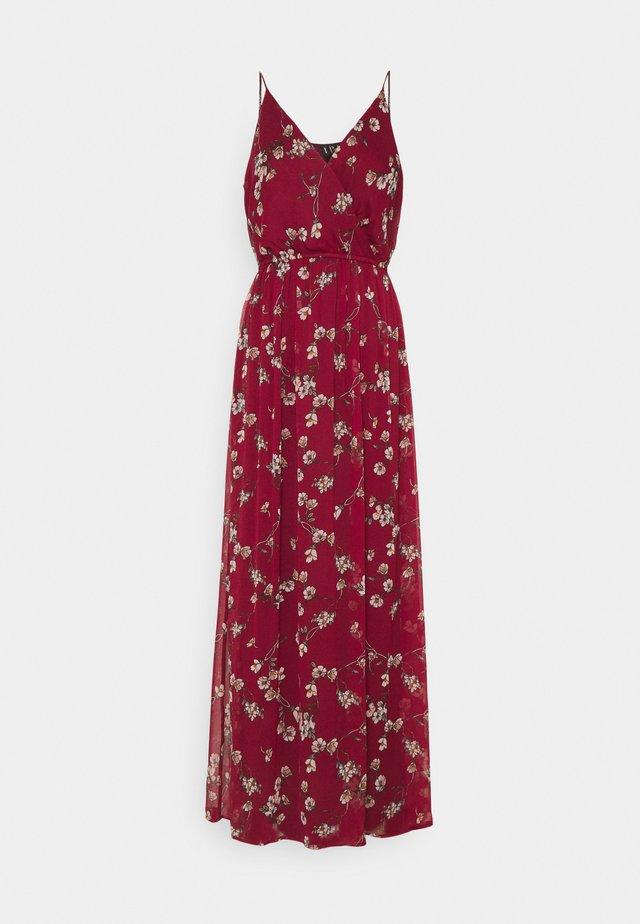 VMWONDA WRAP DRESS - Długa sukienka - tibetan red