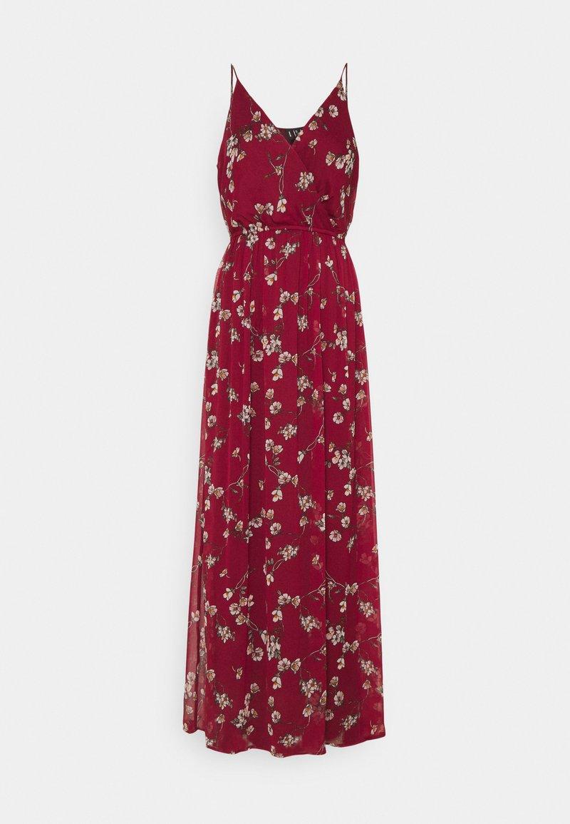 Vero Moda - VMWONDA WRAP DRESS - Maxi dress - tibetan red